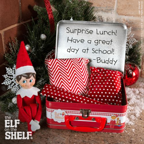 Lunch Wrap Up | Elf on the Shelf Ideas | Ideas for Scout Elves