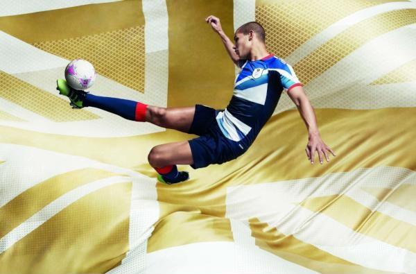 Brand New Team GB Adidas Football Kit
