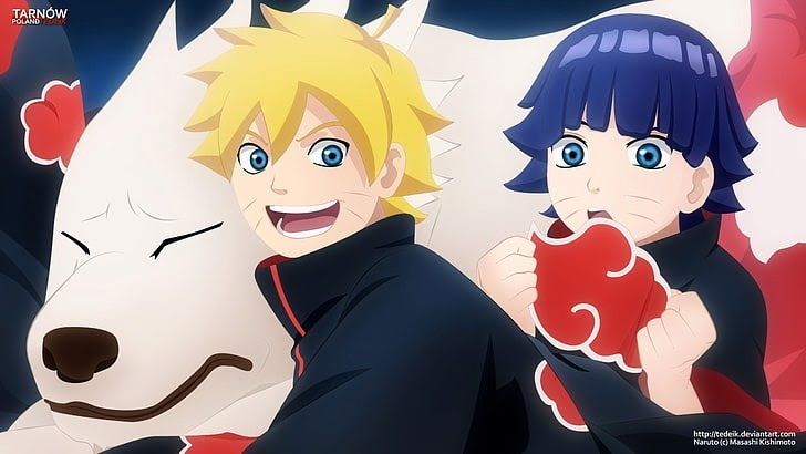 Boruto Wallpaper Keren Anime Naruto