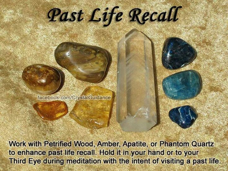 Healing Crystals for past life recall