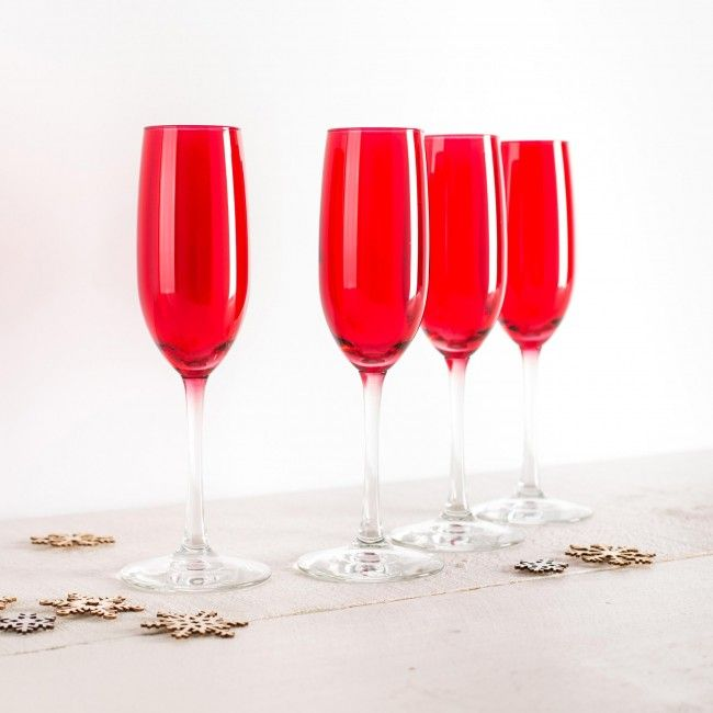 Sip bubbly in style this holiday season! These festive champagne flutes are the perfect addition to any dinner party.    Whether you're looking for stocking stuffers, Secret Santa presents, festive Christmas decor or even gift cards, we have a huge selection of unique holiday stuff to make your days and nights merry and bright.