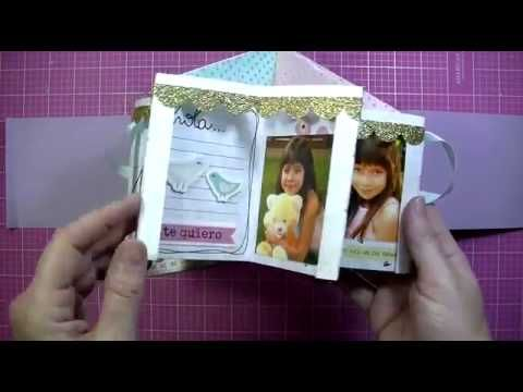 Tutorial mini álbum CAROUSEL BOOK - Gigi Et Moi