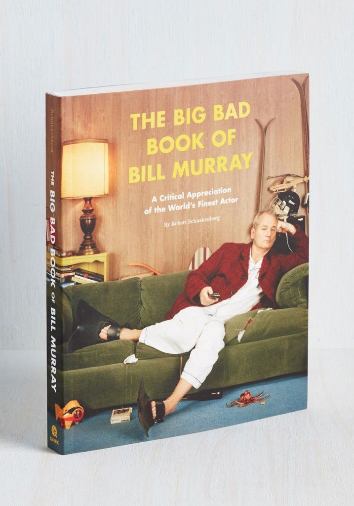 The Big Bad Book of Bill Murray, $12