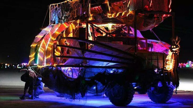 Bring the Thunder Gumbo Art Car to Burning Man 2015! project video thumbnail