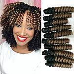 Crochet Bouncy Curl Twist Braids Hair Extensions Kanekalon Hair Braids 2017 - €7.05