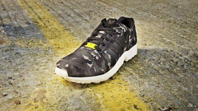 adidas zx flux - camo - foot locker exclusive