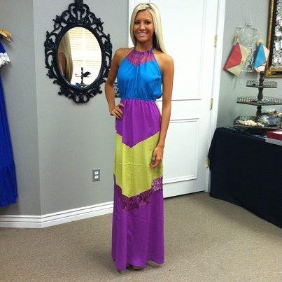 Elegant Lace Inserted Multi Color Block Maxi Dress-Beach Dresses, Block Maxis, Multi Colors, Elegant Lace, Maxis Dresses, Insert Multi, Perfect Dresses, Lace Insert, Colors Block