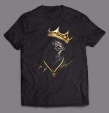 BLACK PANTHER NOTORIOUS BIG KING MASHUP OLDSKOOL ART QUALITY Shirt FULL FRONT