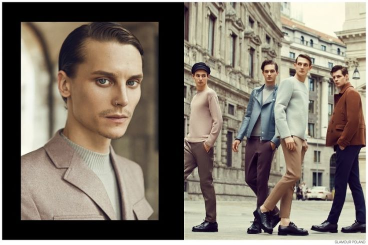Top Polish Models Appear in Fashion Editorial for Glamour Poland September 2014 Issue image Top Polish Models Glamour Poland 007 800x533