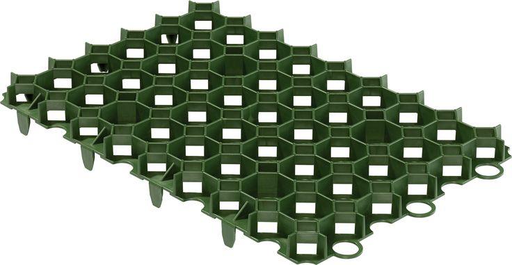 Diall Plastic Grass Stabilisation Mat | Departments | DIY at B&Q