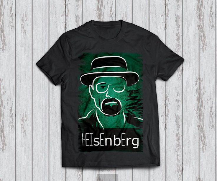 T shirt Breaking Bad Heisenberg T shirt for Men and Women