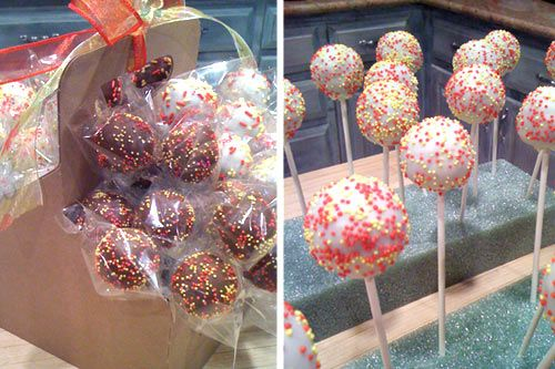 how to transport cake pops