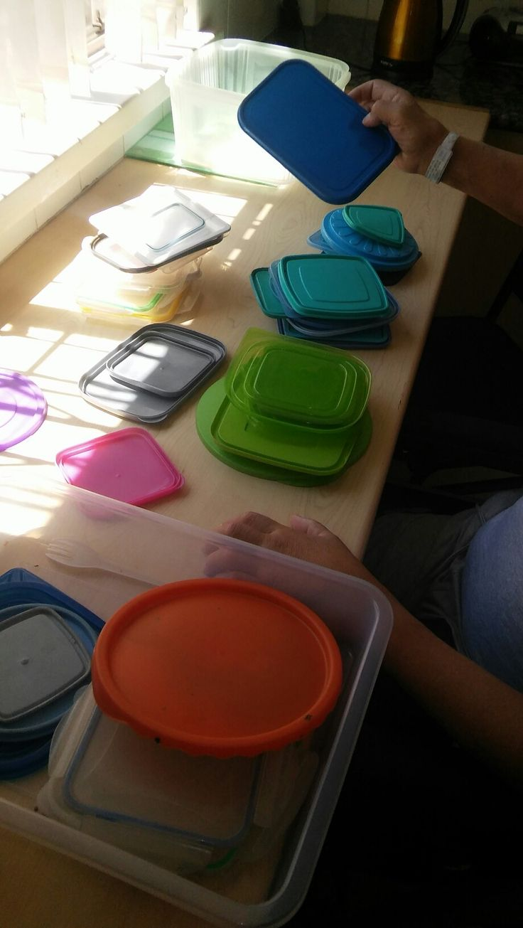 Sorting lids for improved attention and planning