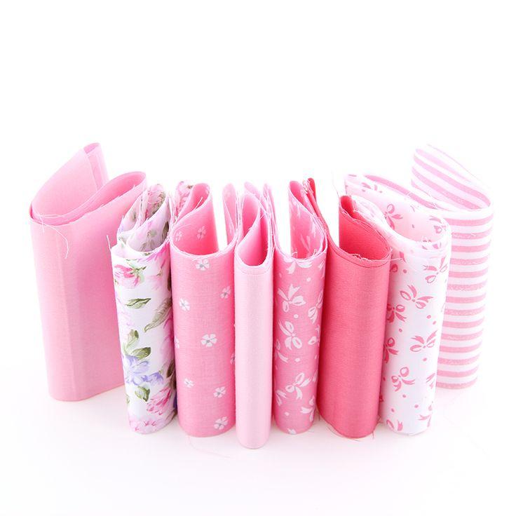 2016 новый печать цветочным узором 8 цвета хлопчатобумажная ткань полосы лоскутное пэчворк ремесел для DIY швейных игрушки 10 * 50 см A3 8 1S купить на AliExpress