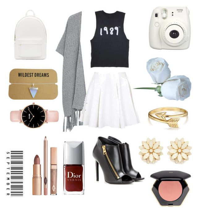 1989 World of Taylor by fourleafclover011 on Polyvore featuring polyvore, fashion, style, Violeta by Mango, Topshop, Tom Ford, PB 0110, Bling Jewelry, Forever 21 and H&M