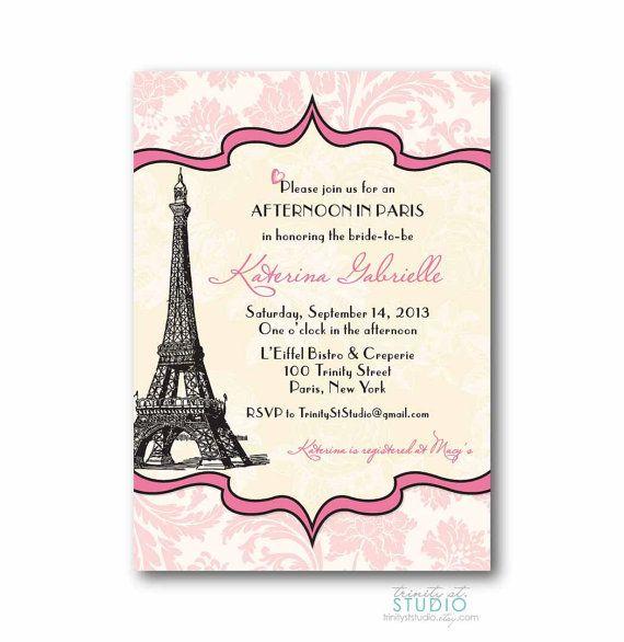 29 best images about bethany 39 s birthday ideas on pinterest paris birthday girl birthday - Salon des seniors paris invitation ...
