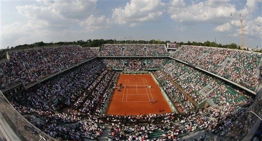 I'd have better seats for the French Open because I'm a rich girl