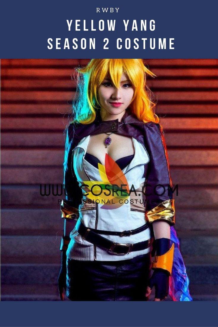 RWBY Yellow Yang Season 2 Cosplay Costume