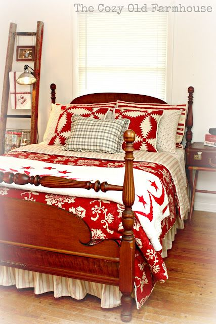 "The Cozy Old ""Farmhouse"": New Sheets - Check"