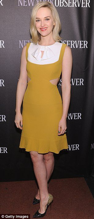 Blonde beauties: Actress Jess Weixler and socialite Nicky Hilton added some glamour to the event in New York