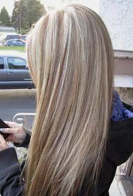 Ξανθά μαλλιά με καστανές ανταύγειες!!!