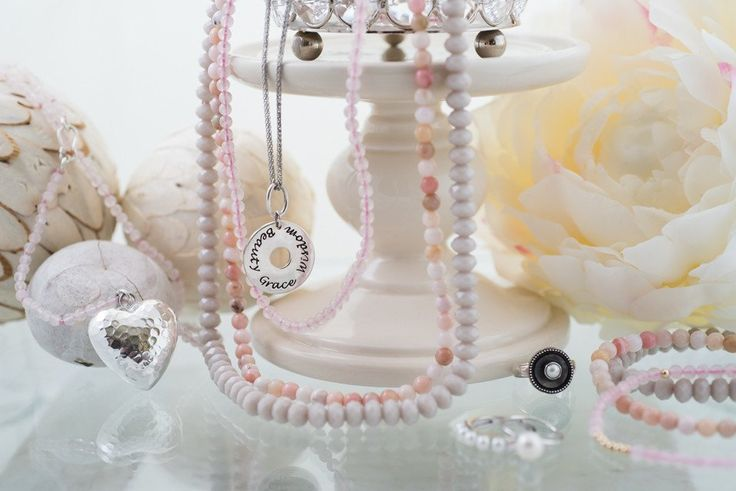 Pretty in Pink | BRIE PINK OPAL NECKLACE SET (3)