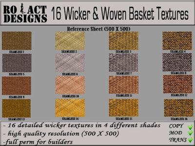 ..::RO!ACT::..DESIGNS 12 Wicker