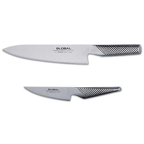 Global G-201 2 Piece Kitchen Knife Set