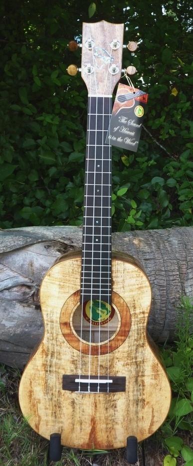 Hawaiian mango. Another unusual wood for anything but ukuleles - so far. $520.