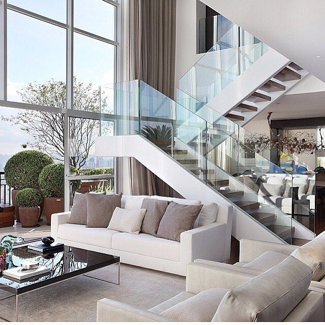 Modern Style In White And Grey Shades. Part 76