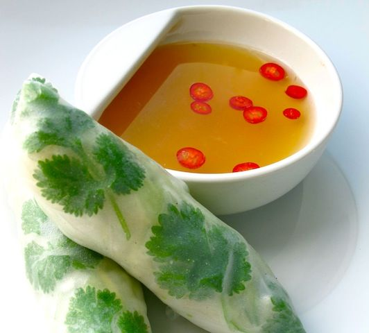 Vietnamese spring rolls. OMG! I LOVE THESES!