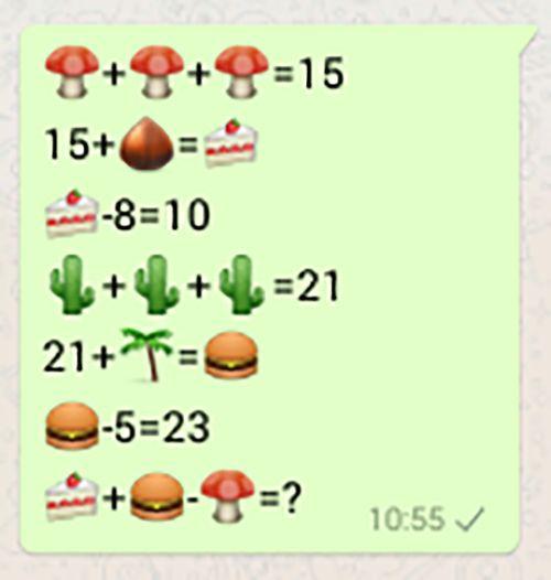 Mais um desafio de matemática