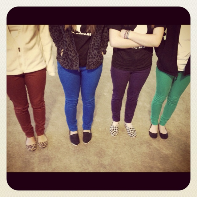 Colored skinny jeans!: A Mini-Saia Jeans, Colors Skinny Jeans, Colored Skinny Jeans, Conservativli Colors