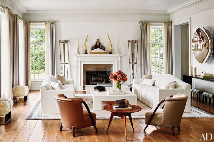 Music man Tommy Mottola invites us inside his Georgian-inspired home in Greenwich, Connecticut