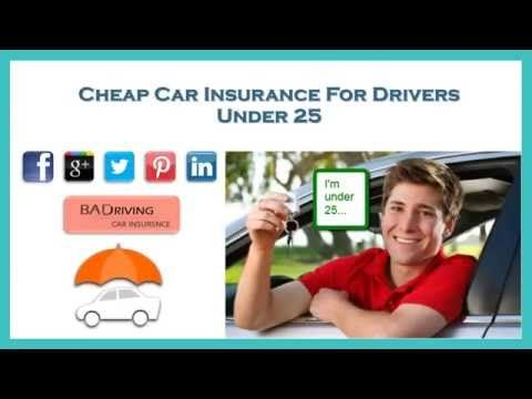 Car Insurance For Under 25 Drivers