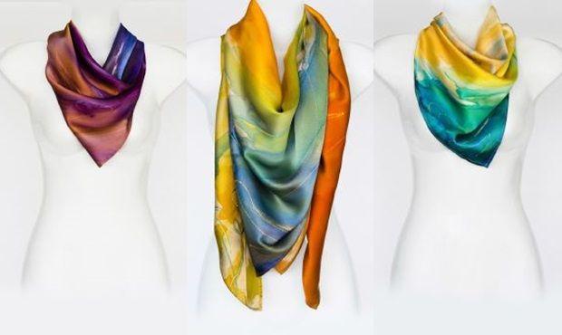 Londonban egy szegedi lány diktálja a divatot. Lengyel Leona színes selyemkendői már a londoni divatvilágot is meghódították. A tarka színű, elegáns kiegészítők egyre népszerűbbek. #Femcafe #fashion #scarves #lengyelleona #divat #luxus #selyem http://www.femcafe.hu/cikkek/fashion-beauty/londonban-egy-szegedi-lany-diktalja-a-divatot