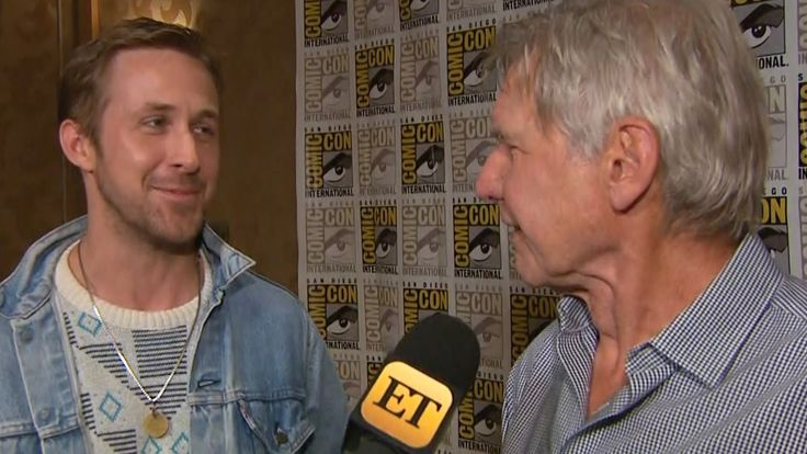EXCLUSIVE: Ryan Gosling Gushes Over Harrison Ford Says He's 'Cooler' Tha...