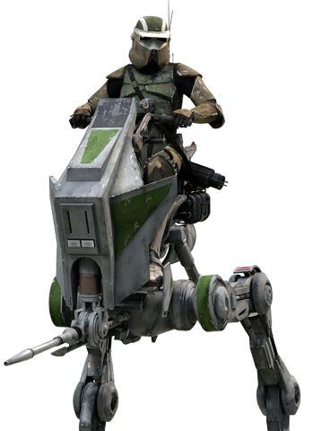 AT-RT walker - Star Wars ... Clone °°