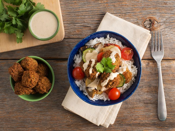 FALAFEL RICE BOWL