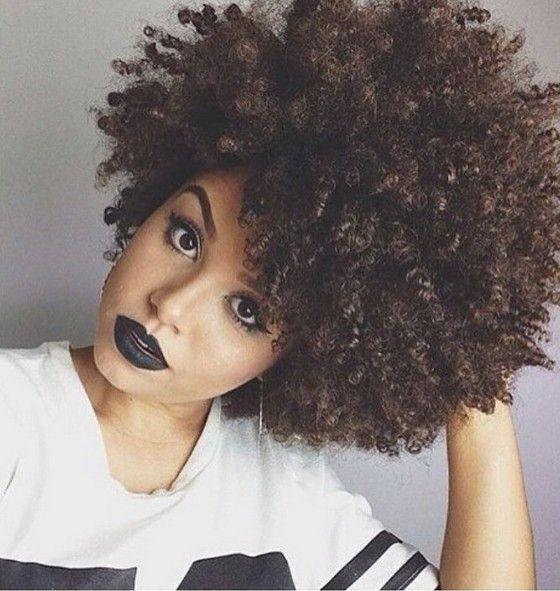 Peinados naturales magnífica del afroamericano //  #afroamericano #magnífica…natural curls