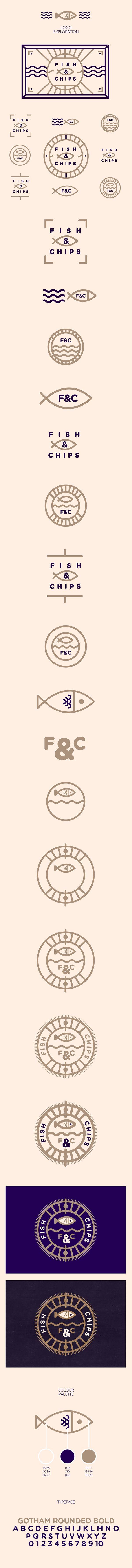 Everybody Loves Fish & Chips // Branding on Behance