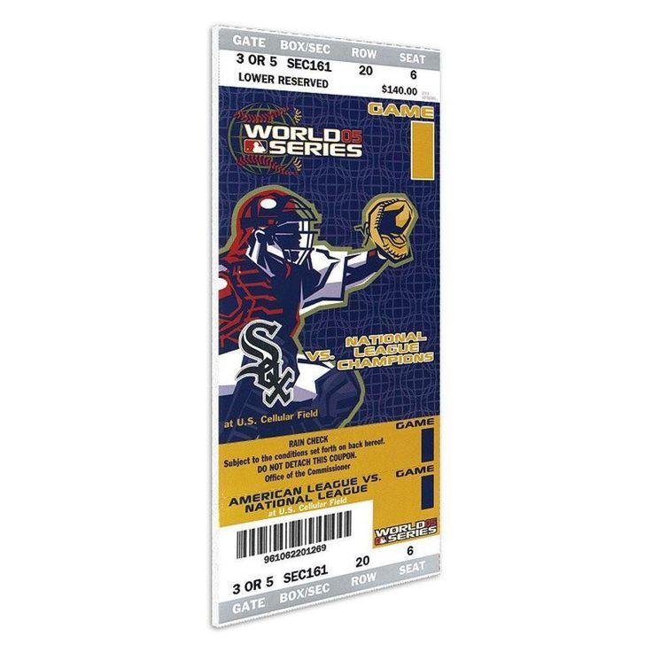MLB Mini-Mega Ticket 2005 World Series Game 1 Chicago White Sox vs Houston Astros