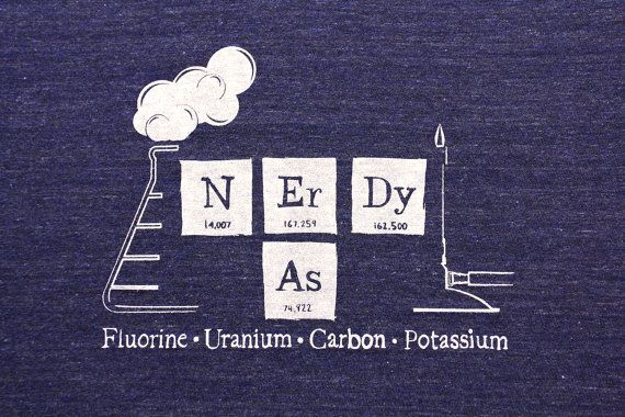 A shirt for the nerd on your list! For all you non-nerds, Potassium is K on the periodic table. Just so were all on the same page.    The