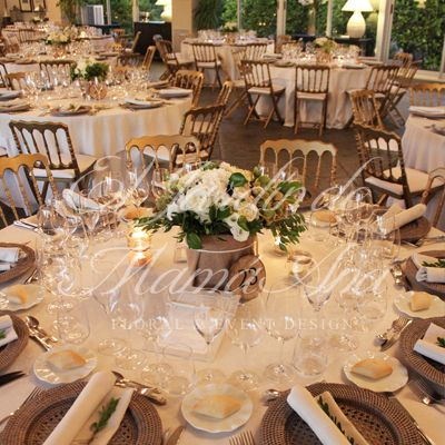Centros de mesa.  Weddings in Spain. www.eljardindemam... Facebook: www.facebook.com/... Blog: eljardindemamaana