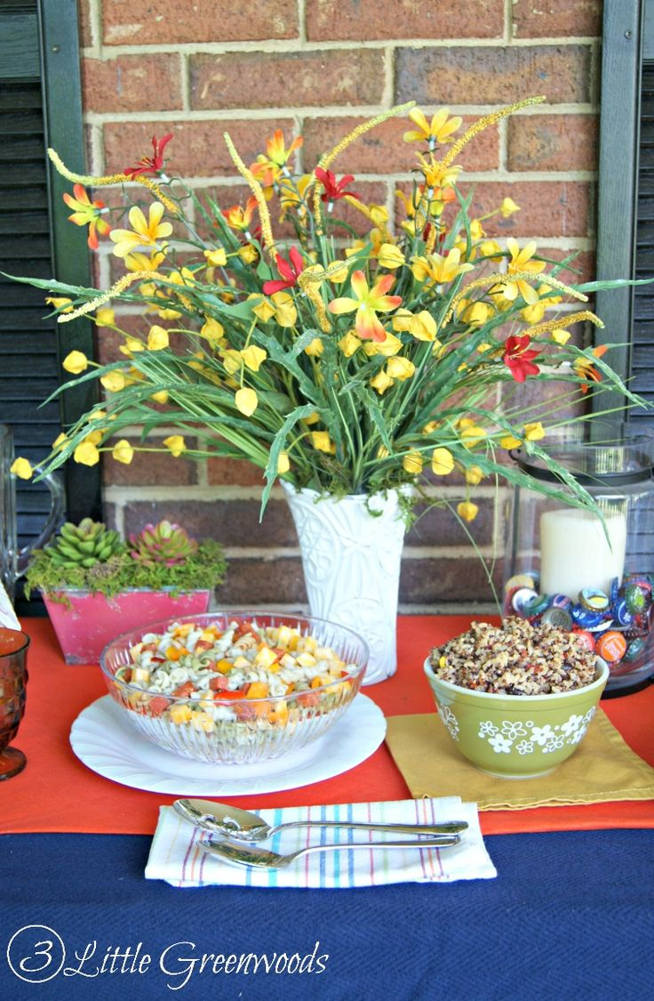 Celebrate The Summer Holidays In Style With These Summer Table Decoration  Ideas From 3 Little Greenwoods Part 64