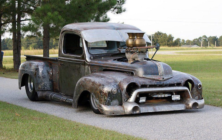 Rat Rod, ton of ideas going on here, but some are not working well together...