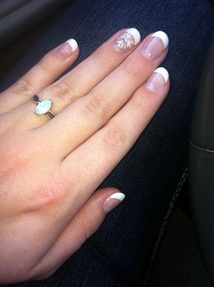 Love my winter nails!