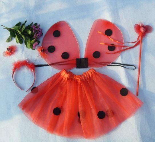 #vestito di carnevale da #coccinella fai da te