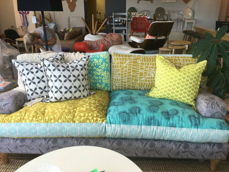 Design Team Fabrics- Patch work Sofa Union 3 Ballito Durban South Africa