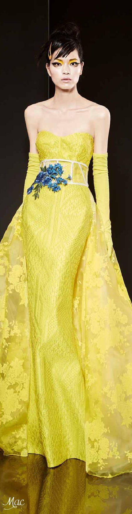 Spring 2016 Haute Couture Yolan Cris Evening